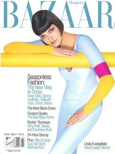 Bazaar March 1997 - Linda Evangelista