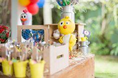 Festa da Galinha Pintadinha Inspiração, idéias, Bolo, cupcake, brigadeiros, doces, docinhos, pintinho amarelinho www.stephaniadeflorio.com.br
