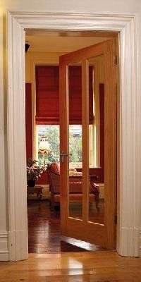 Maine Oak Glazed Interior Door - www.perfectdoorsuk.com