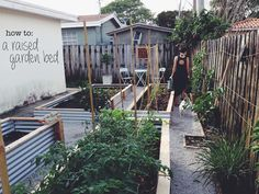 ohdeardrea: Our Raised Beds: Easy Metal & Wood Garden Bed How ...