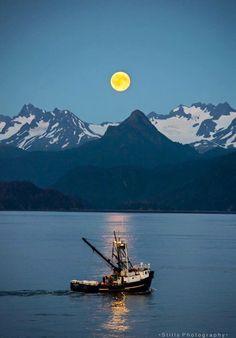 Beautiful view from Homer Alaska ~