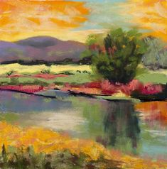 The Colors Of Colorado Pastel by Diana Tripp