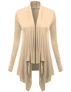 J.TOMSON Womens Draped Open Front Cardigan OATMEAL XL- #fashion #Apparel find more at lowpricebooks.co - #fashion