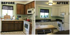 DIY Cheap Kitchen Remodel ( to remind me self that it will not always look like a page out of a magazine )