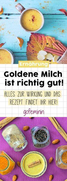 Goldene Milch: Das gesunde Trend-Getränk direkt aus der Feen-Küche