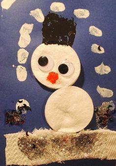 Snowman card/Christmas