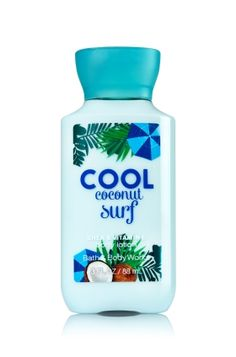 Cool Coconut Surf Travel Size Body Lotion - Signature Collection - Bath & Body Works