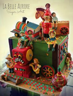Vintage Toys by LaBelleAurore