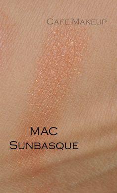 MAC Sunbasque blusher swatch