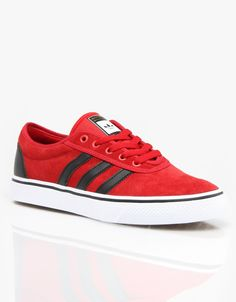 the best attitude f6f80 6312f Adidas Adi Ease Pro Skate Shoes - Power RedCore BlackWhite