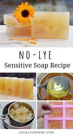 No-Lye Sensitive Soap Rezept - No-Lye Sensitive Soap Rezept - # . - No-Lye Sensitive Soap Rezept – No-Lye Sensitive Soap Rezept – - Soap Making Recipes, Homemade Soap Recipes, Homemade Soap Bars, Homemade Paint, Castile Soap Recipes, Homemade Shampoo, Diy Savon, Lye Soap, Glycerin Soap