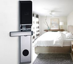 Avent Security C500 hotel management system door lock with zinc alloy