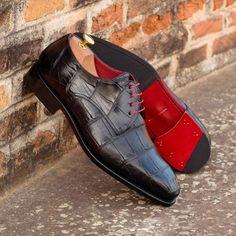 Custom Made Shoes, Custom Design Shoes, Black Shoes, Men's Shoes, Top Shoes, Italian Luxury Brands, Mens Designer Shoes, Shoe Tree, Goodyear Welt