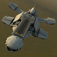 spaceship space 3d 3ds - Spaceship HD... by Pekdemir