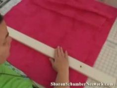 Brilliant way to baste quilts!