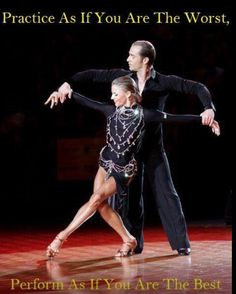 Yulia and riccardo Practice as if you are the Worst, Perform as if you are the Best