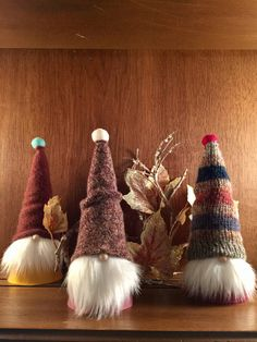 Swedish Tomte from my Etsy shop https://www.etsy.com/listing/248507723/fall-sweater-gnomes-set-of-3-tomtetomten