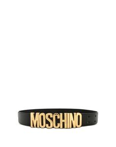 Check out Leather Belt Moschino Women on Moschino Online Store ans shop online. Secure payment and worldwide delivery.
