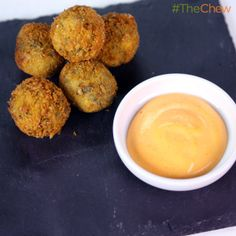 Steak Croquettes by Clinton Kelly! #TheChew #Appetizer