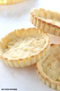 Almond Flour Pie Crust - My PCOS Kitchen - paleo pie crust made in tart molds.