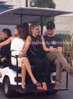 Willa, Emily & Stephen #Arrow #SDCC