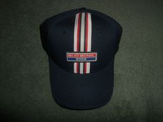 Men's Blue, Red & Silver BUD BOWL 2005 Embroidered Hat, Velcro Strap, NWOT! #BUDBOWL2005 #BaseballCap