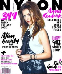 February 2015 cover with Anna Kendrick
