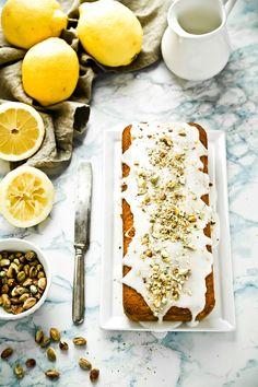 Lemon and pistachios cake - cake limone e pistacchi - plumcake al limone - Lemon cake recipe