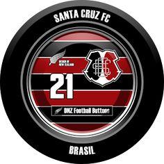DNZ Football Buttons: Santa Cruz FC                                                                                                                                                                                 Mais