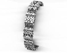 Men's Silver Bracelet from LUZ By Houman