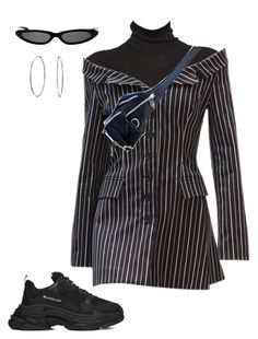 """Untitled #234"" by eviebull ❤ liked on Polyvore featuring Balenciaga and Bling Jewelry"