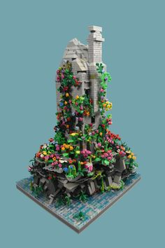 The Tower — BrickNerd - Your place for all things LEGO and the LEGO fan community Pick A Brick, Lego Kingdoms, Lego Mechs, Lego Castle, Cool Lego Creations, Lego Worlds, Lego House, Lego Projects, Everything Is Awesome