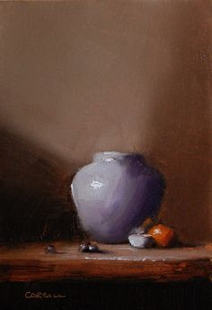 Another favorite found on the FASO Daily Art Show - A Touch of Violet by Neil Carroll Oil ~ 8 x 6 http://dailyartshow.faso.com/dailyartshow