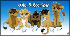 One Direction Furry Fan Art Is A Thing That Exists - http://f3v3r.com/2012/09/06/one-direction-furry-fan-art-is-a-thing-that-exists/