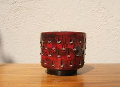 Vintage Planter Plant Pot by Fratelli Fanciullacci - Italian Pottery - Mid Century Modern - 60s