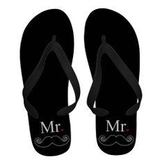 c10879aad4eecf Mr Gifts on Zazzle. Flip Flop SandalsFlip Flop SlippersWedding ...
