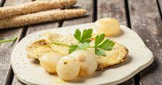 pechugas de pollo al curry con cebollas