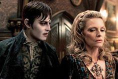 Johnny Depp as Barnabas Collins in Dark Shadows.