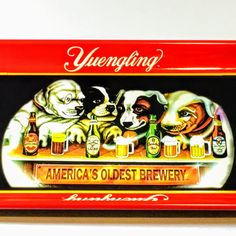 Limited Edition Vintage Yuengling Beer Advertising Metal Collectible Beer Serving Tray by NostalgiaDenAntiques on Etsy