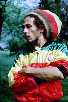 """Bob Marley """"its that look, that makes this man a legend ... he is living IN the moment on this pic - like always"""