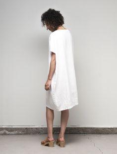 Bev Dress: White – Shop Fog Linen