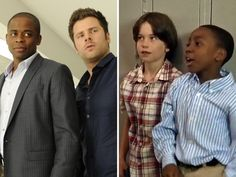 "Shawn and Gus, ""Psych"" These boys were my favorite younger Shawn and Gus:)"