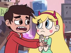 Star and Marco hugs