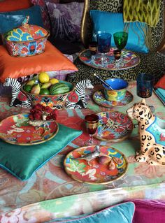 MAGPIE  tabletop collection ~by tracy porter poetic wanderlust ~avail fall 2014 online at Bed Bath Beyond, Neiman Marcus + Macys