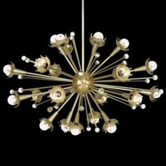 Sputnik Chandelier by Lumens