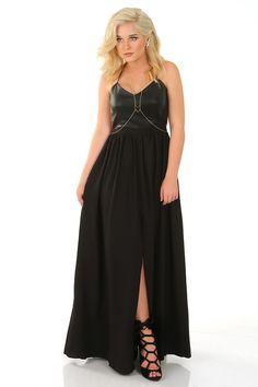 Lasting Impressions Maxi Dress: Black #shophopes