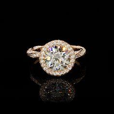 Unique Rings, Beautiful Rings, Royal Diamond, Gold Ring Designs, Diamond Ring Settings, Engagement Ring Cuts, Ring Verlobung, Wedding Rings, Rose Gold