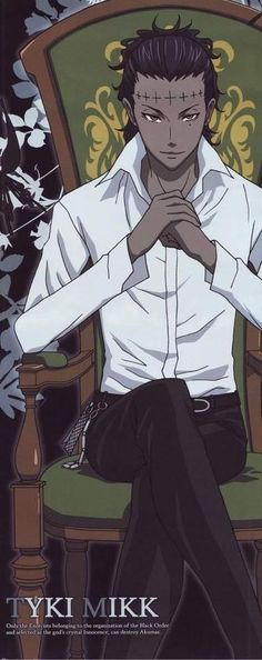 Tyki is such an awesome villain!!! His two personalities and not wanting to lose either side to his life makes him so much more than the average villain.