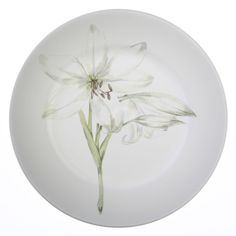 "Corelle® Impressions™ White Flower 10.75"" Plate - Corelle"