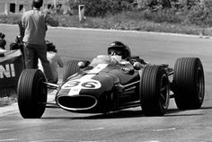 1967, Dan Gurney drove to victory in the Formula 1 Belgian Grand Prix at Spa-Francorchamps